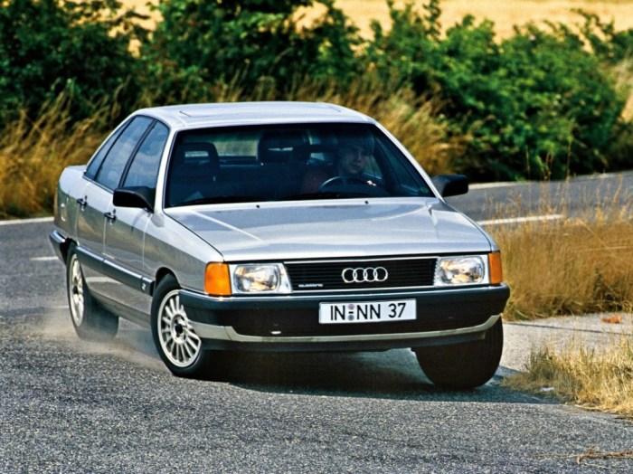 Audi 100 - это скромно и со вкусом.