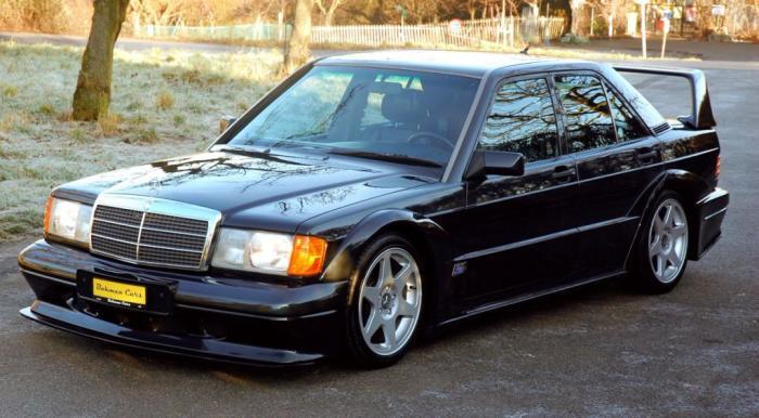 Незаслуженно забытый Mercedes 190.