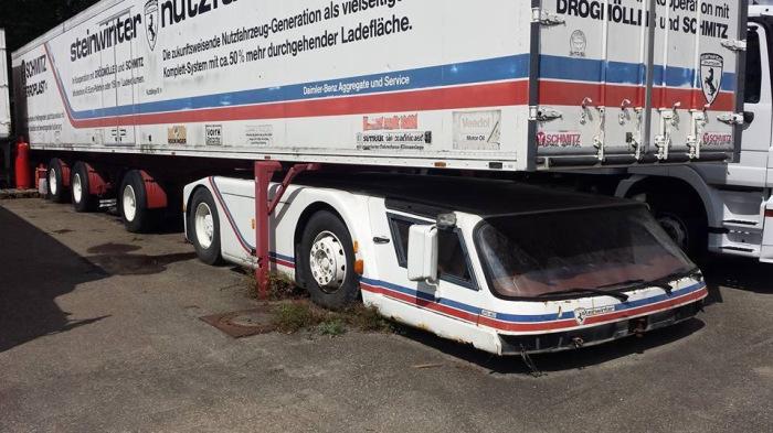 Выглядел грузовик интересно. |Фото: drive2.ru.