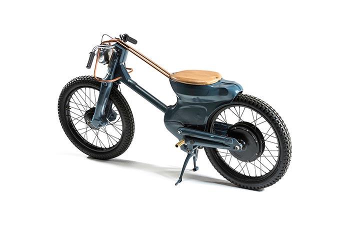 Экологичный байк от Honda.