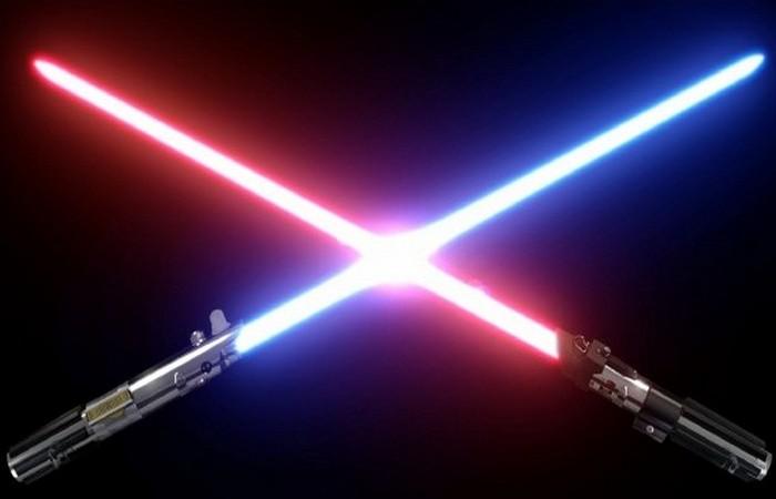 Световой меч: поклонникам Звёздных войн посвящается.