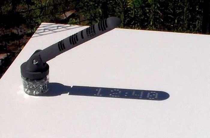 Уникальные солнечные часы.