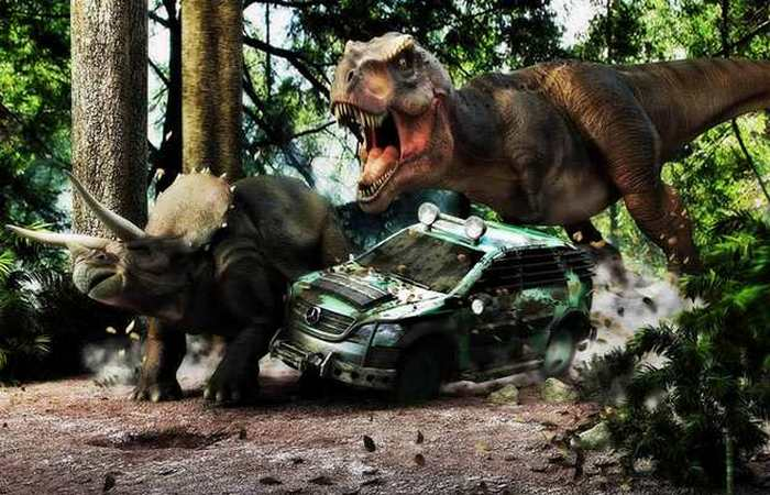 Палеонтологи в Голливуде.