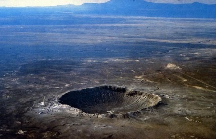 Кратер Юкатанского метеорита.
