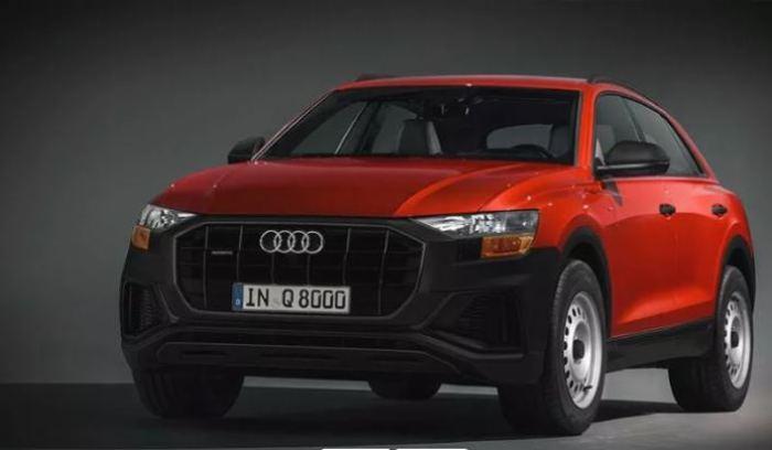 Все еще хорош и добротен  Audi Q8.
