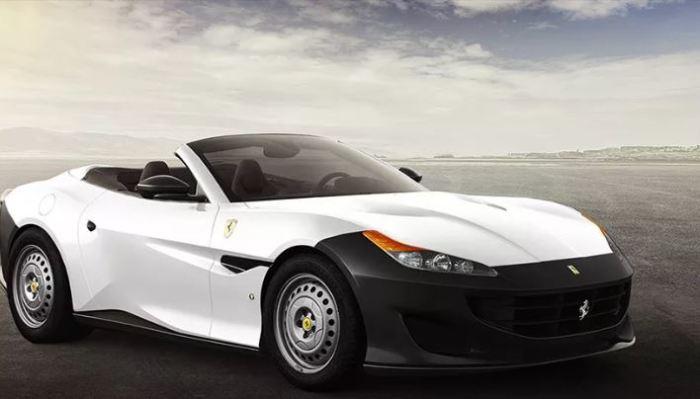 Вот таким бы был Ferrari Portofino.