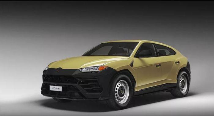 Узнать в этой машине Lamborghini Urus совсем не трудно.