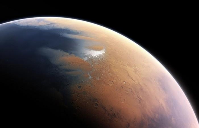 Цунами на Марсе.