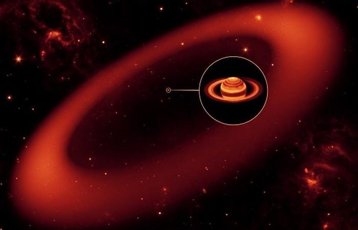 Новое кольцо Сатурна.