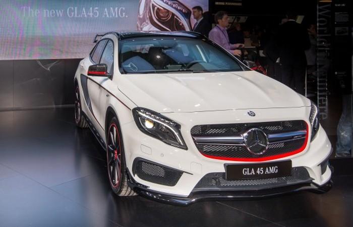Mercedes AMG GLA45.