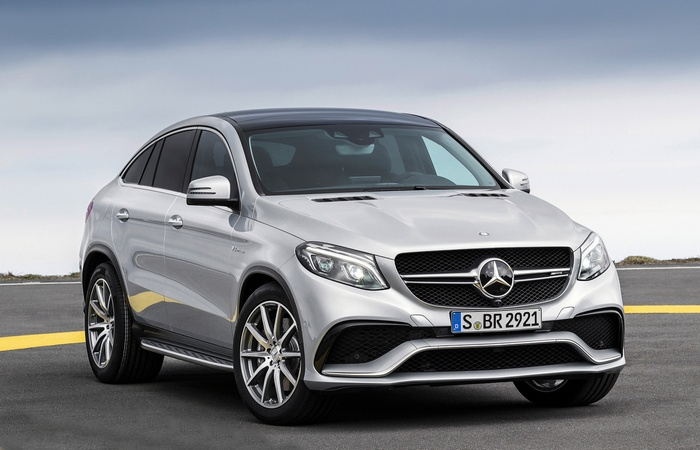 Mercedes AMG GLE63/Coupe.