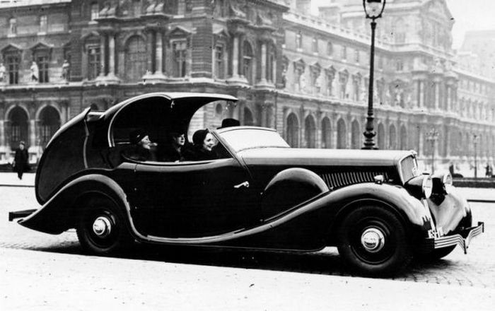 Джордж Паулин и Peugeot.