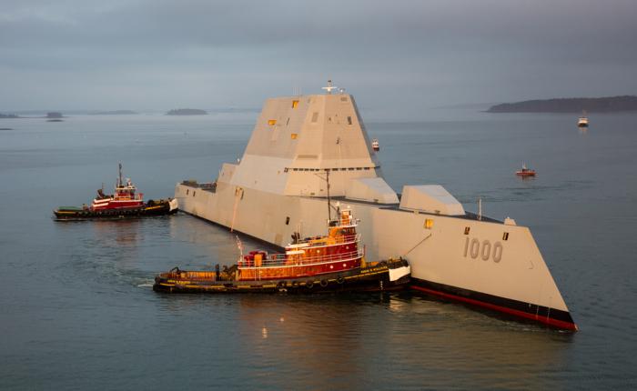 Супердорогим кораблем в Пентагоне довольны не все. |Фото: gcaptain.com.