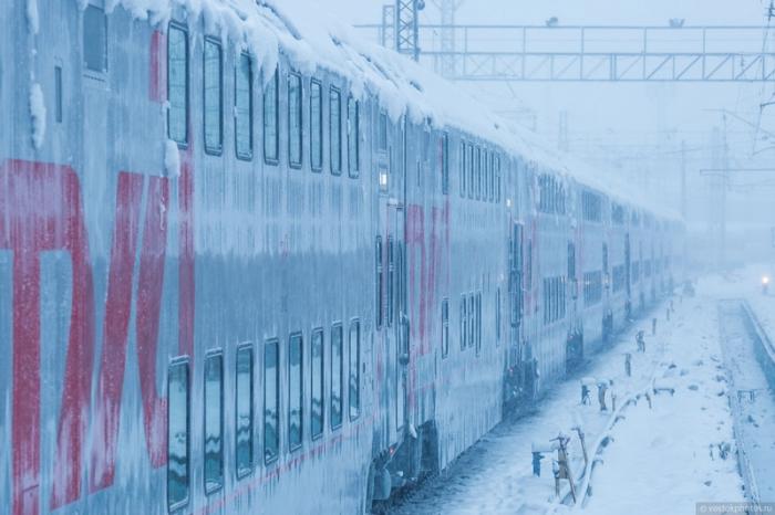 Первый в России двухэтажный поезд