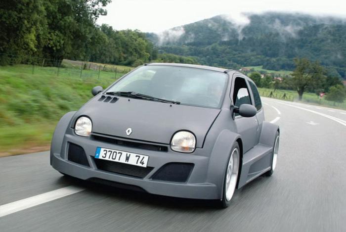 У Renault Twingo впечатляющий внешний вид.