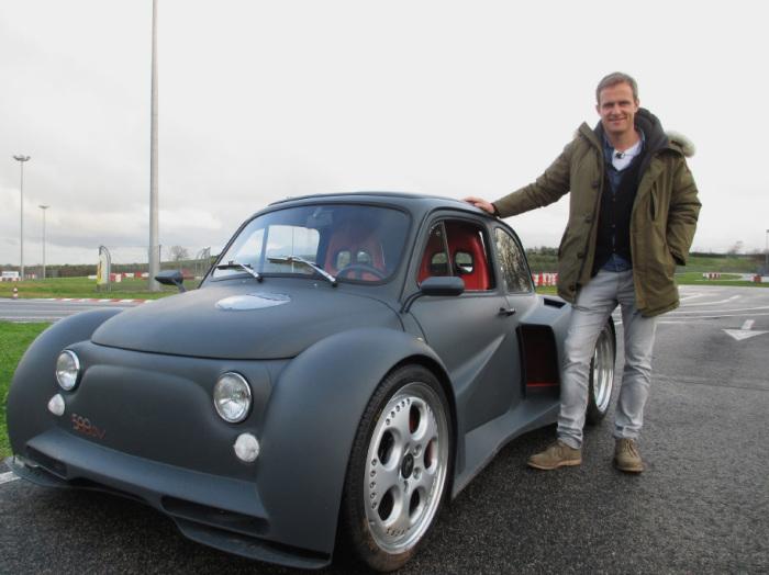 Что только не делают со стариком Fiat 500.