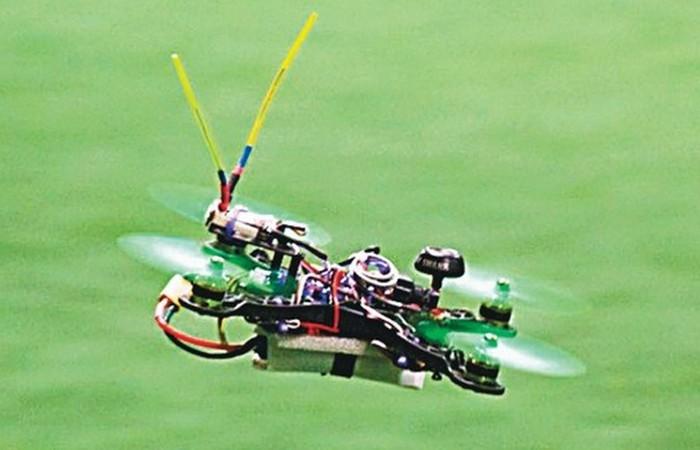 Спортивные дроны.