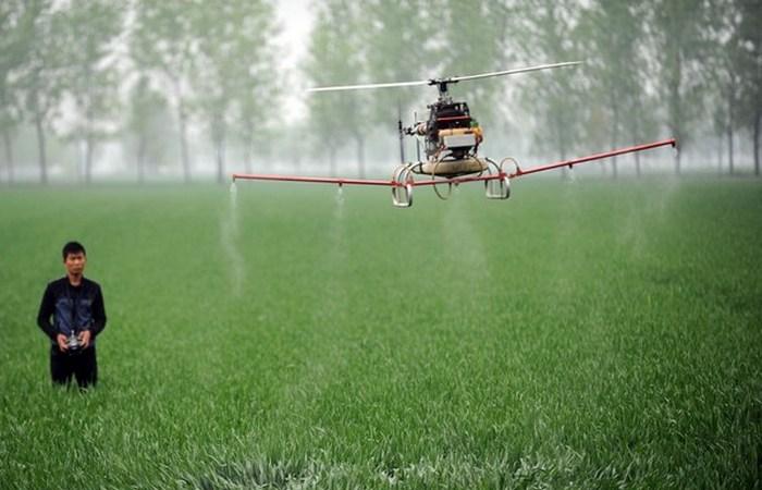 Дроны в сельском хозяйстве.