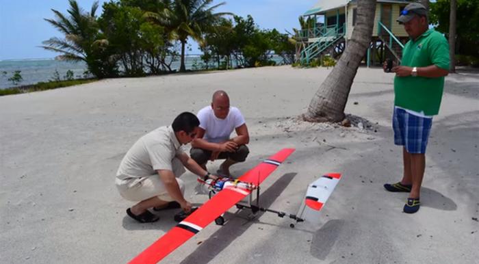 ДБелиз: дроны для обнаружения рыбаков-браконьеров.