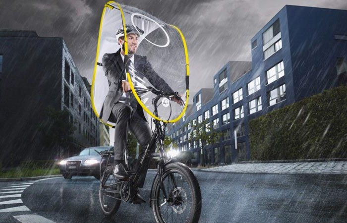 Для велопрогулок в ненастную погоду