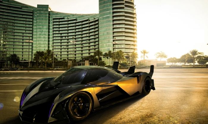 Сделан Devel Sixteen в Дубае.