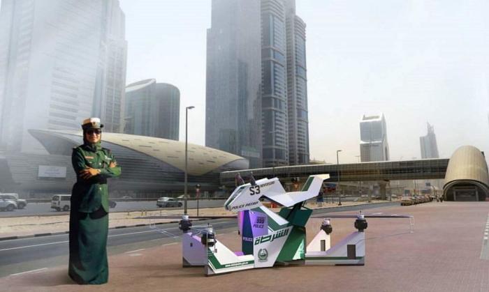 Полиция Дубая начнет летать.