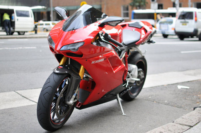 Ducati 1098S - 272 км/ч.