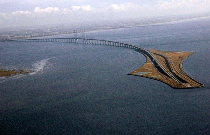 Эресуннский мост. Швеция.