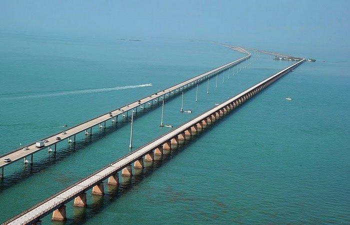 Мост 7 Миль. США, Флорида.