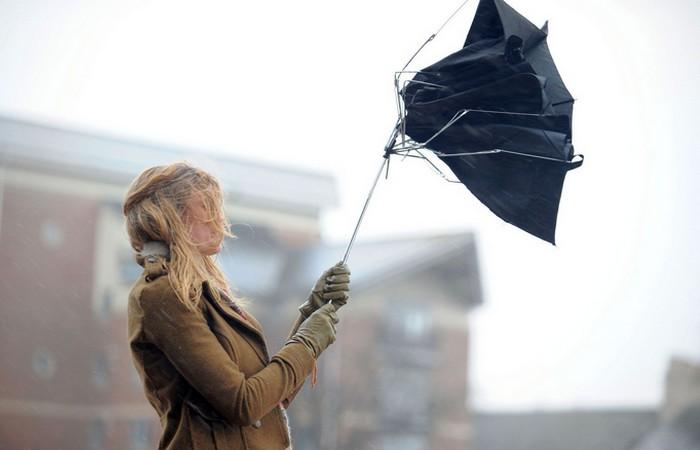 Раскрытый зонт замедлит падение с высоты.