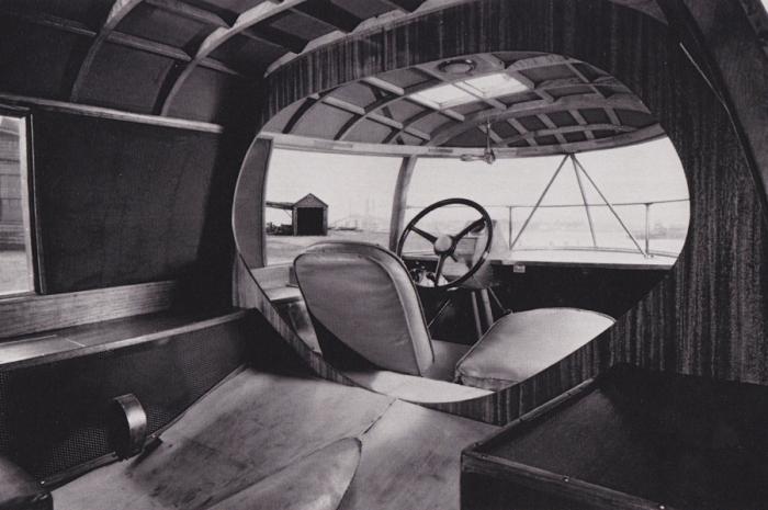 Салон Dymaxion.