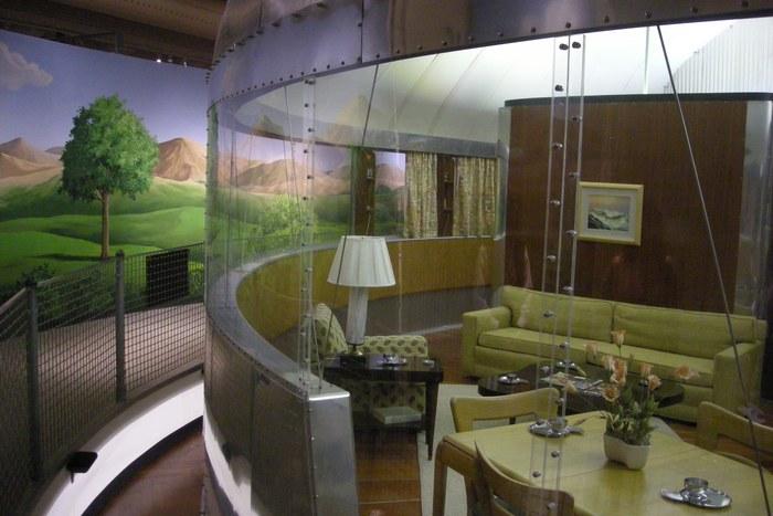 «Дом Уичита» с прозрачными стенами.
