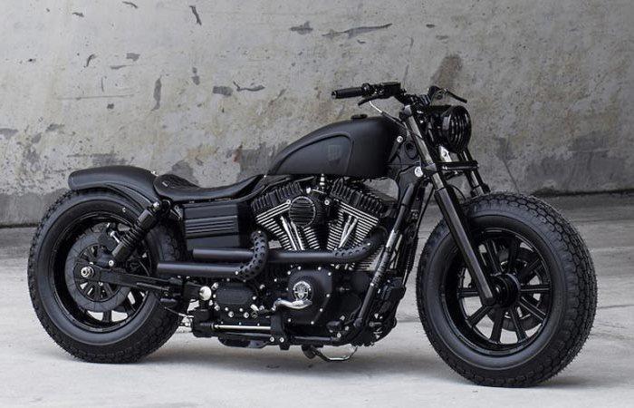 Тайский кастомайзинг Harley-Davidson.