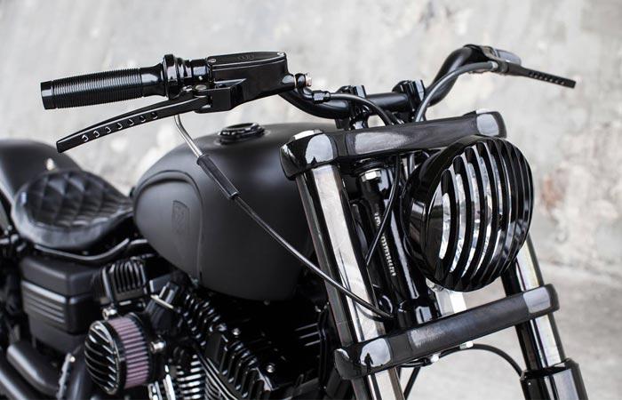 Блочная фара Harley-Davidson Forty-Eight.