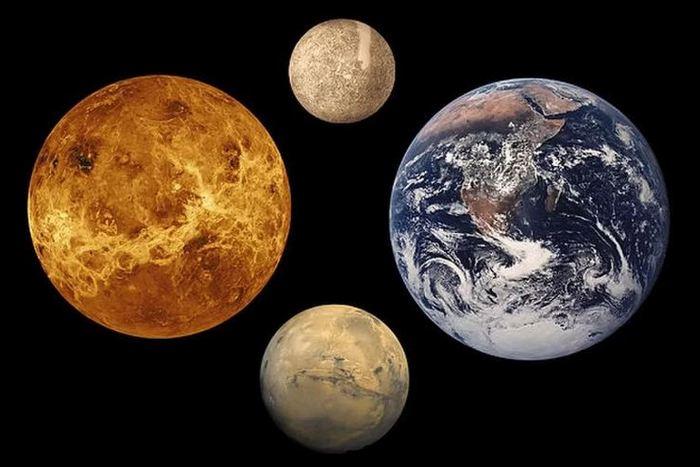 Интересный факт о планетах «земной группы».