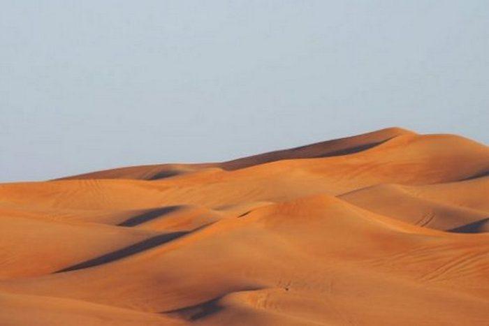 Интересный факт о «поющих дюнах».