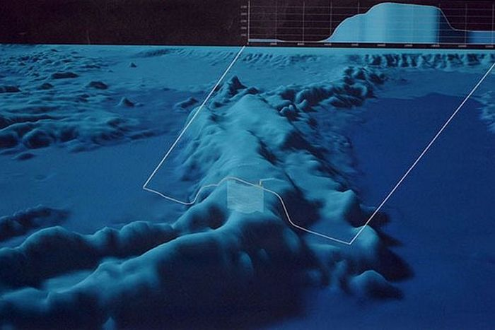 Интересный факт о подводном рельефе.