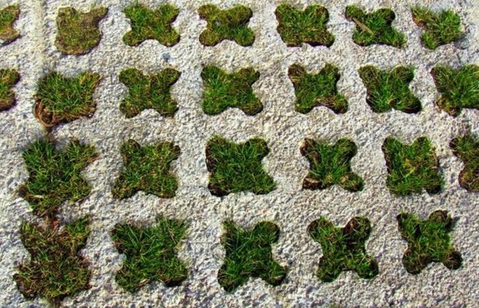 Строительный материал травяной бетон.