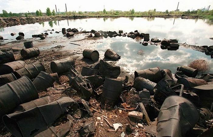 Экологическая проблема: озеро Карачай.