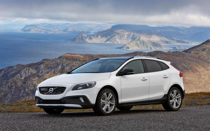Старый-добрый Volvo V40 Cross Country.