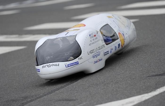 Так выглядит самый экономичный в мире автомобиль.