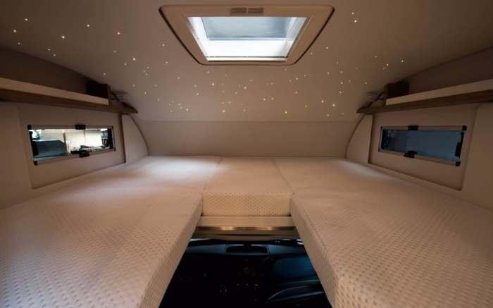 Удобные места для досуга и сна.