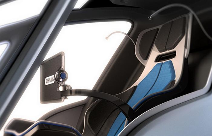 Кресло пилота.