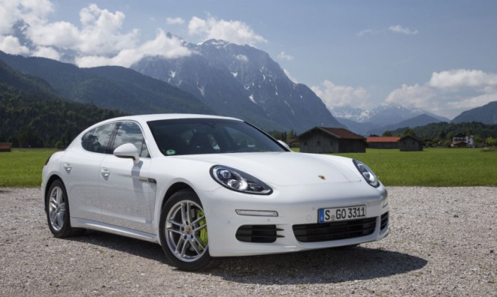 Porsche Panamera S Hybrid E.