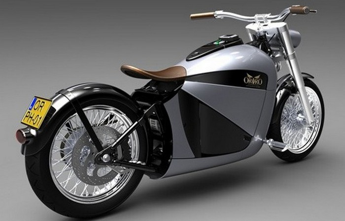 Orphiro Electric Motorcycle.