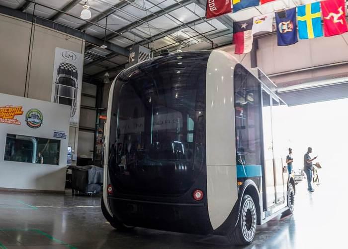 3D-автобус Olli.