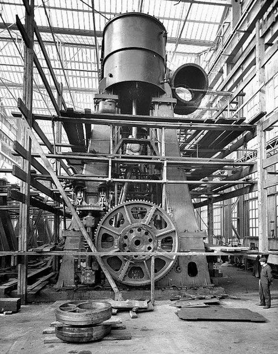 Сборка двигателя «Титаника».