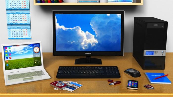 Правило экономии: использовать ноутбук чаще, чем ПК.