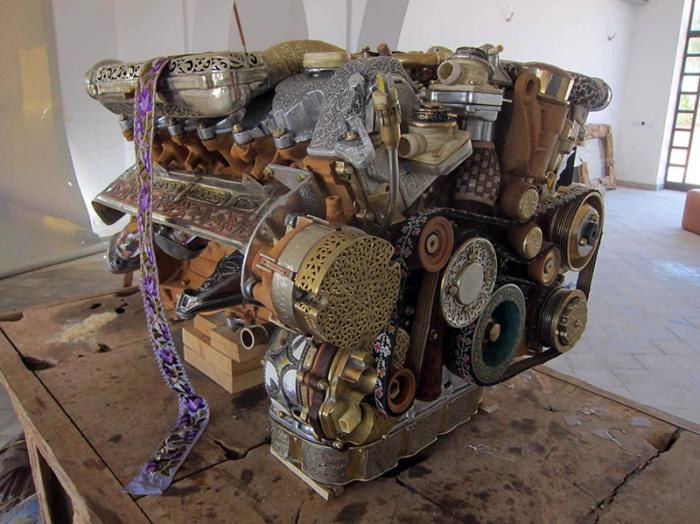 Двигатель Mercedes речной работы.