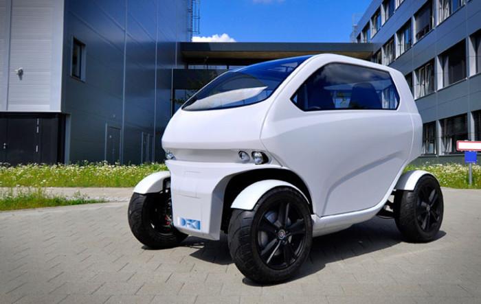 EOscc2 - миниавтомобиль для мегаполиса.